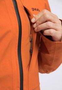 PYUA - EXCITE - Snowboardjas - rostige Orange - 3