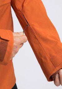 PYUA - EXCITE - Snowboardjas - rostige Orange - 4