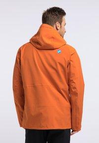 PYUA - EXCITE - Snowboardjas - rostige Orange - 2