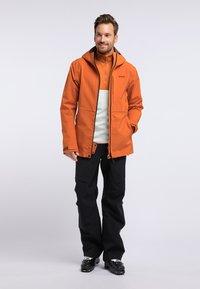 PYUA - EXCITE - Snowboardjas - rostige Orange - 1