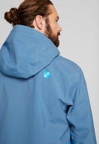 PYUA - EXCITE - Snowboard jacket - stellar blue/malibu blue - 4