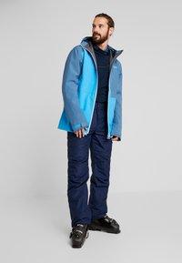 PYUA - EXCITE - Snowboard jacket - stellar blue/malibu blue - 1