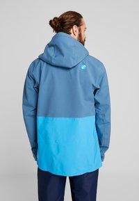PYUA - EXCITE - Snowboard jacket - stellar blue/malibu blue - 2