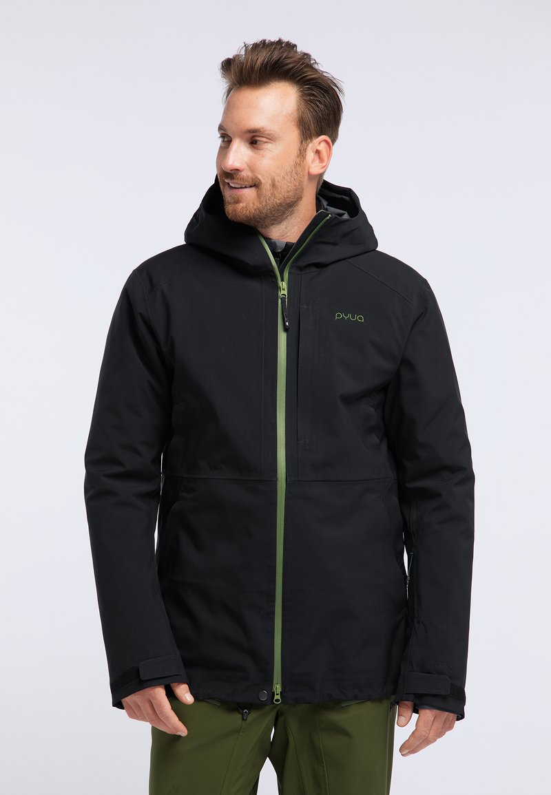 PYUA - EXCITE - Snowboard jacket - black