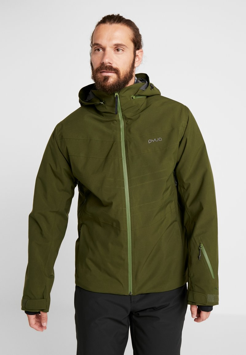 PYUA - VOID - Snowboard jacket - rifle green