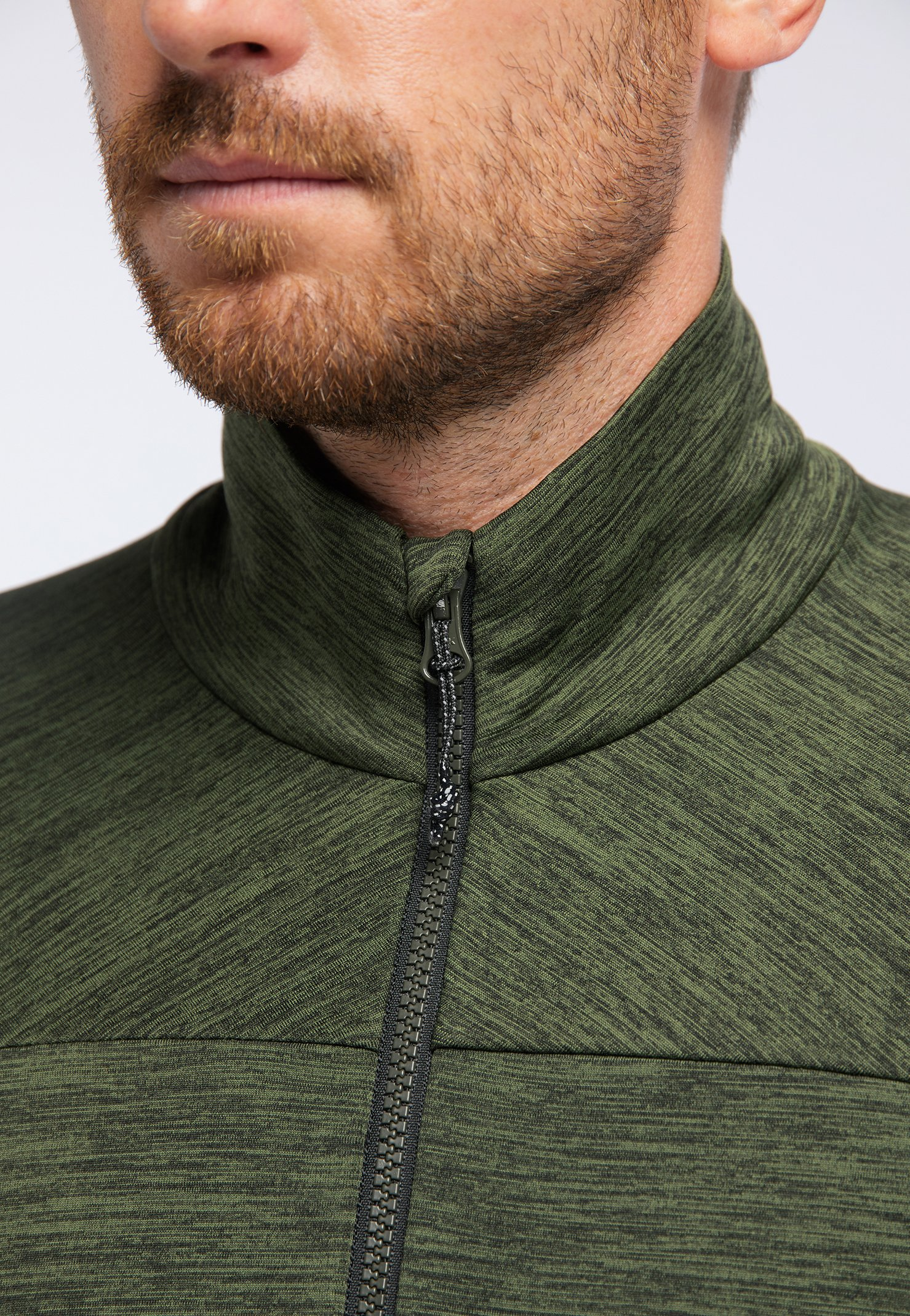 PYUA INSTINCT - veste en sweat zippée - rifle green
