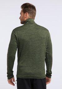 PYUA - INSTINCT - Zip-up hoodie - rifle green - 2
