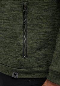 PYUA - INSTINCT - Zip-up hoodie - rifle green - 4