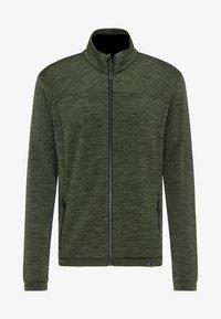 PYUA - INSTINCT - Zip-up hoodie - rifle green - 5