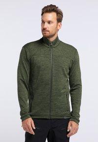 PYUA - INSTINCT - Zip-up hoodie - rifle green - 0