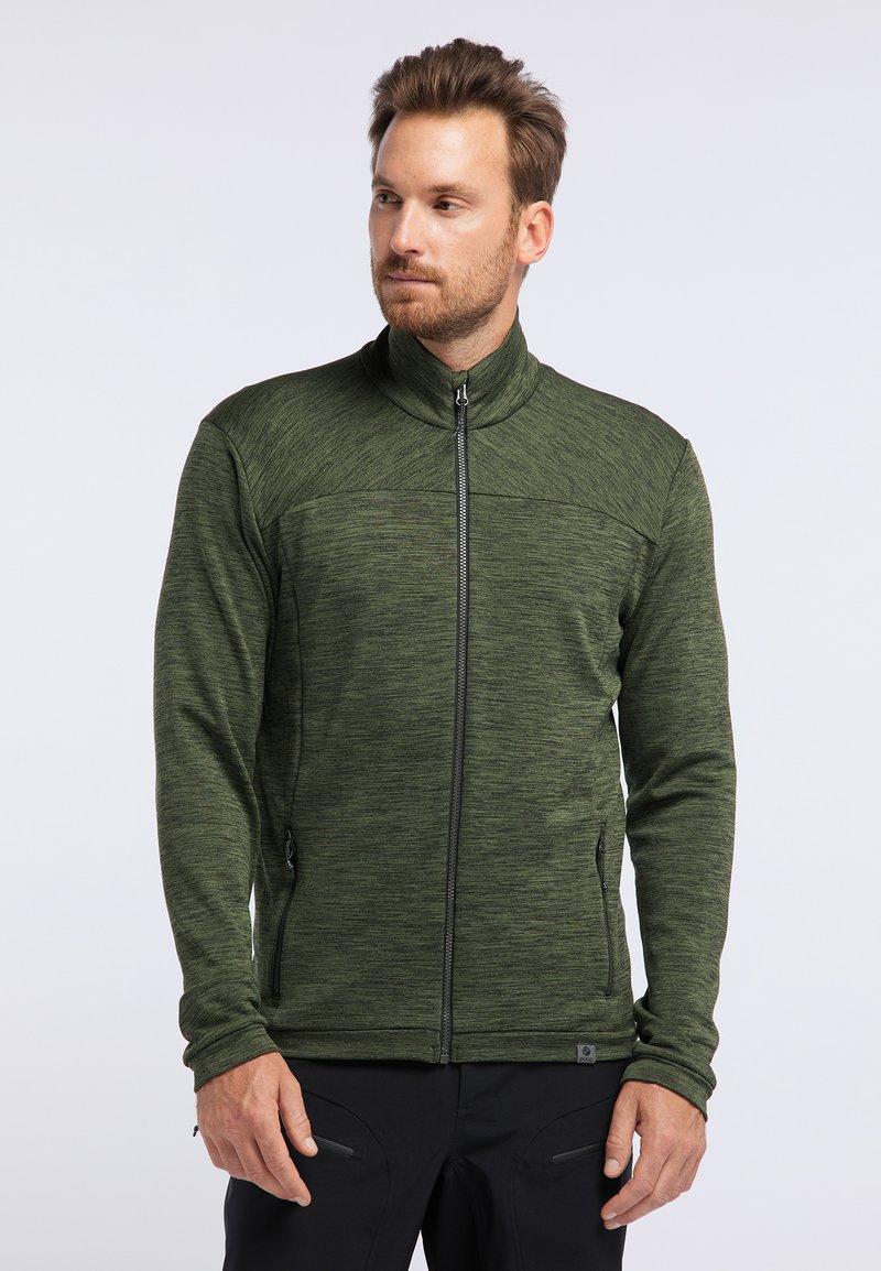 PYUA - INSTINCT - Zip-up hoodie - rifle green