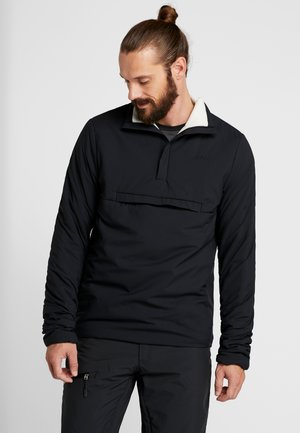 DUFF - Snowboardová bunda - black