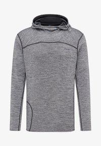 PYUA - PIPE - Hoodie - light grey melange - 5