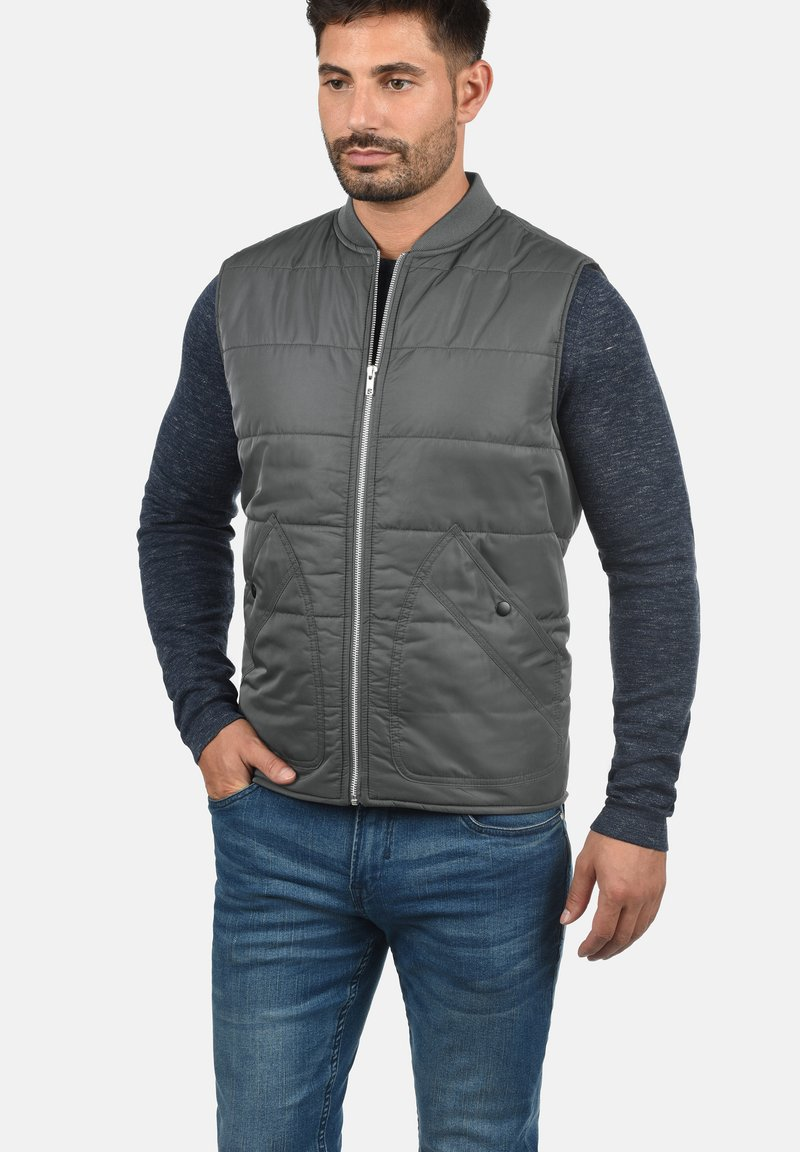 Produkt - PETRUS - Waistcoat - dark grey