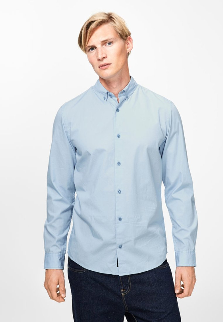 Produkt - SHARIF POPLIN - Shirt - light blue
