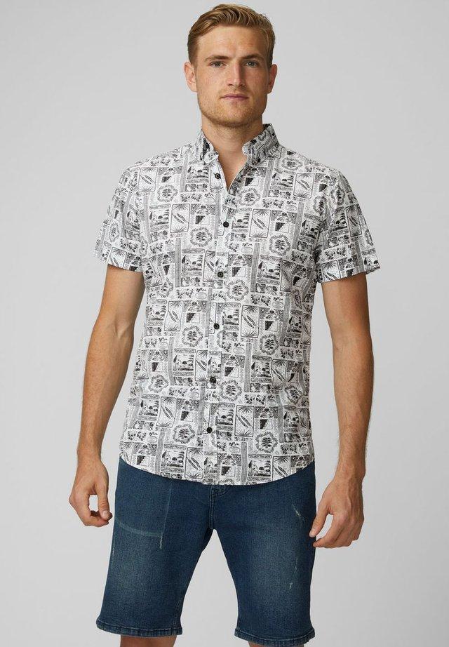 HEMD BEDRUCKTES - Shirt - white