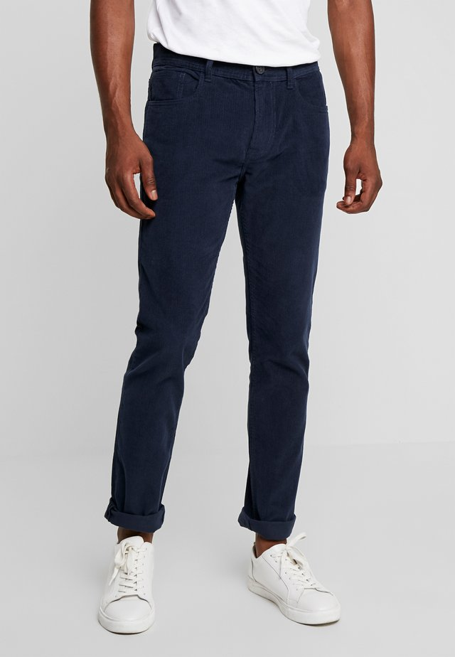 PKTAKM PANTS - Trousers - dress blues