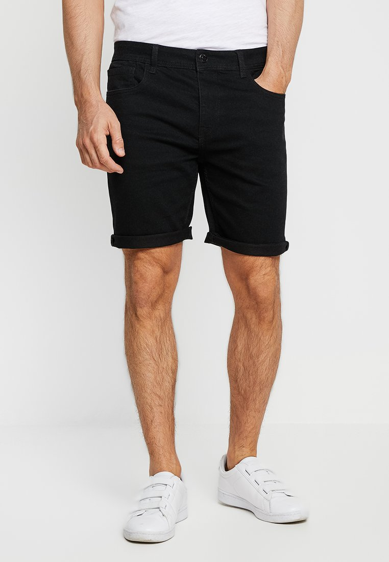 Produkt - PKTAKM - Denim shorts - black denim