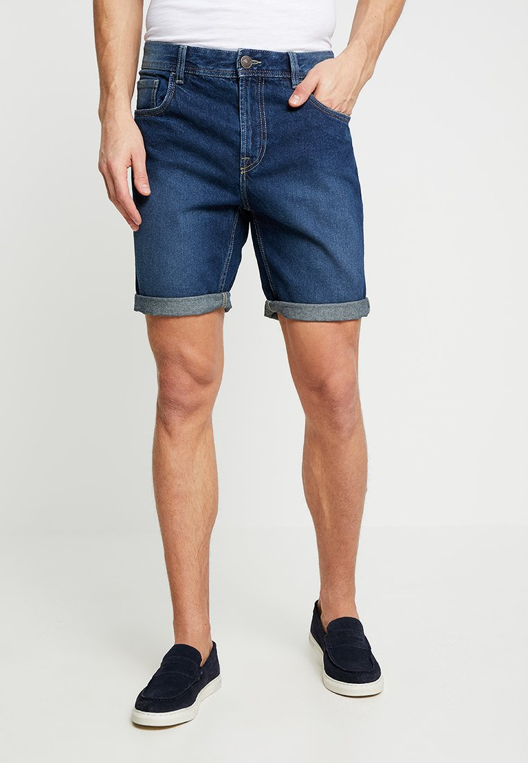 Produkt - PKTAKM REGULAR - Denim shorts - medium blue denim