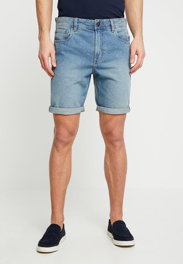 Produkt - PKTAKM - Denim shorts - light blue denim