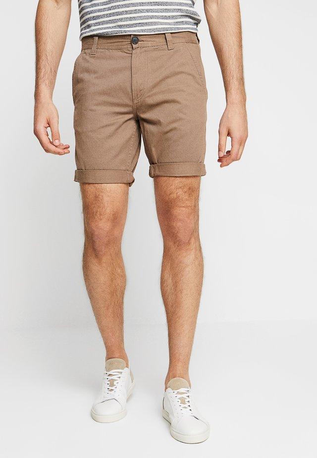 PKTAKM MIX 2 PACK - Shorts - black/brown