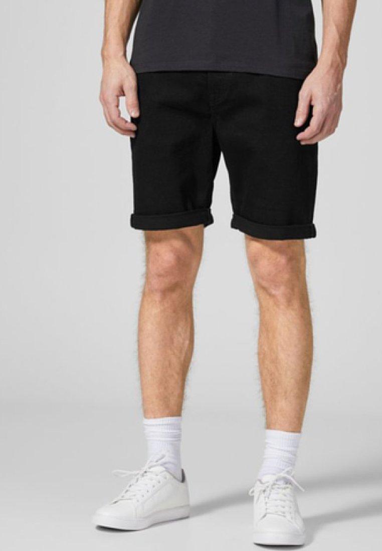 Produkt - Denim shorts - black denim