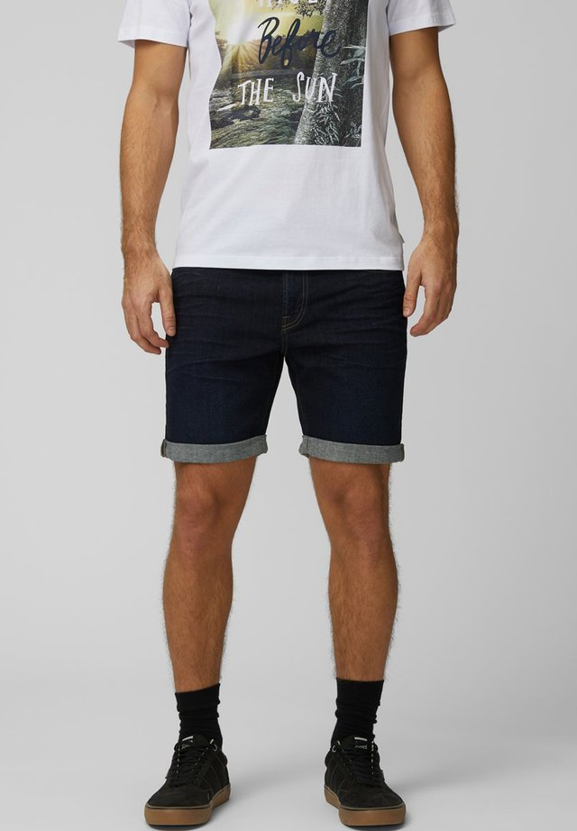 JEANSSHORTS REGULAR FIT - Jeans Shorts - dark blue denim