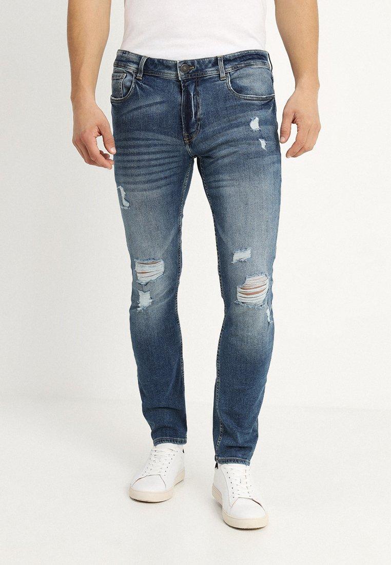Produkt - PKTAKM JEANS  - Jeans Skinny Fit - medium blue denim