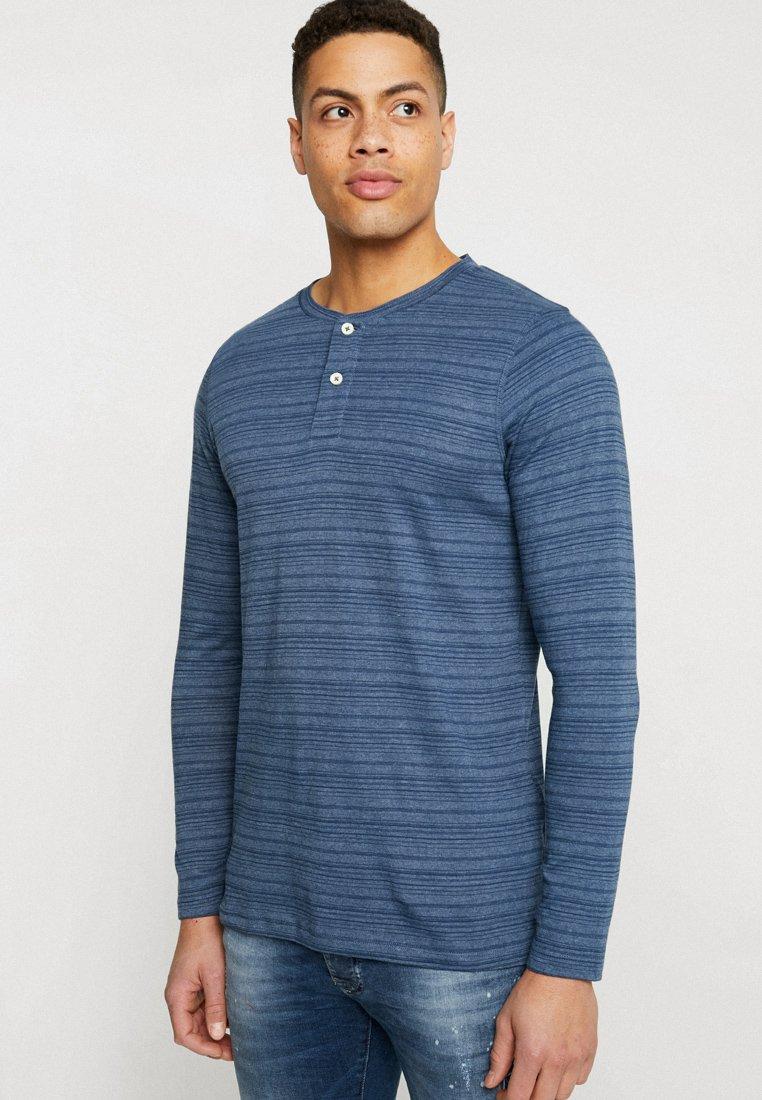 Produkt - PKTGMS AUSTIN TEE - Bluzka z długim rękawem - dark denim
