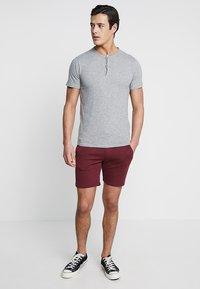 Produkt - PKTAUK TIGER GRANDAD TEE - T-shirt basic - light grey melange - 1