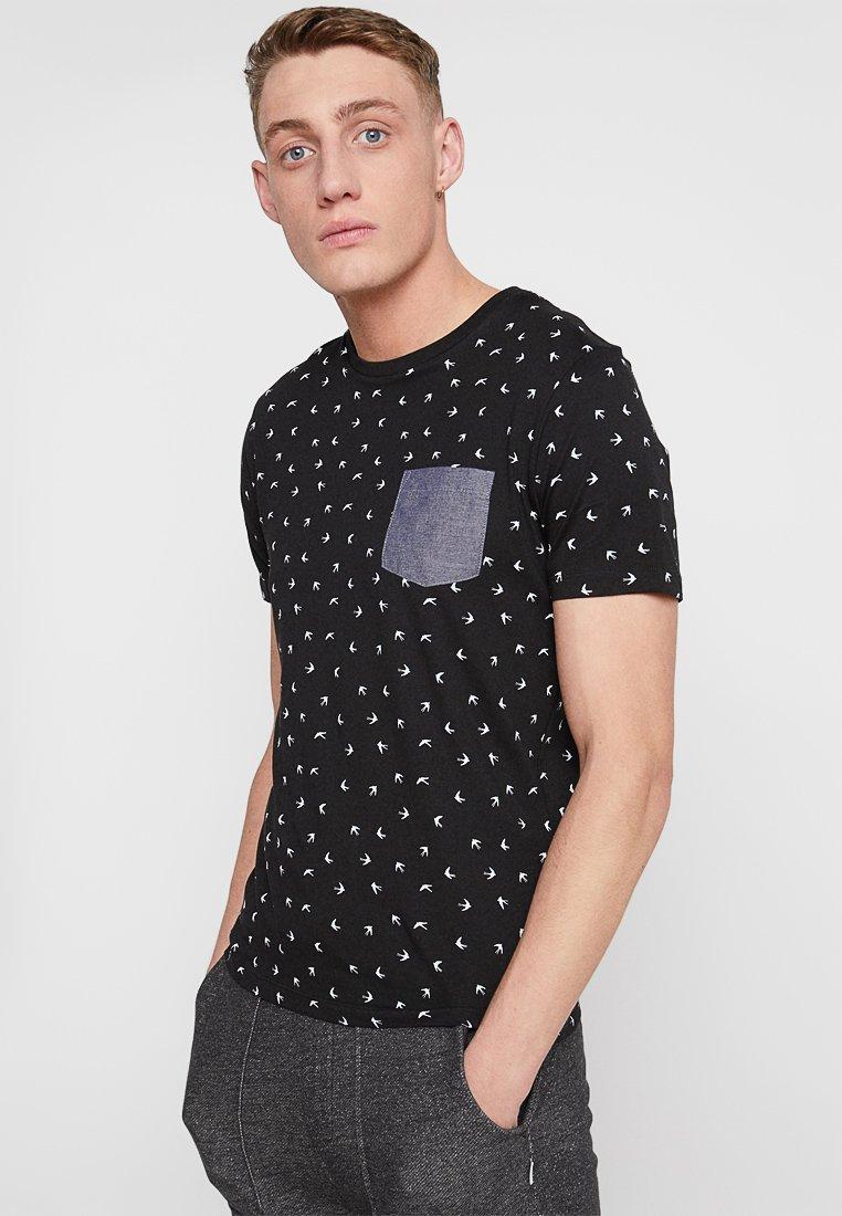 Produkt - FLY TEE  - Print T-shirt - black