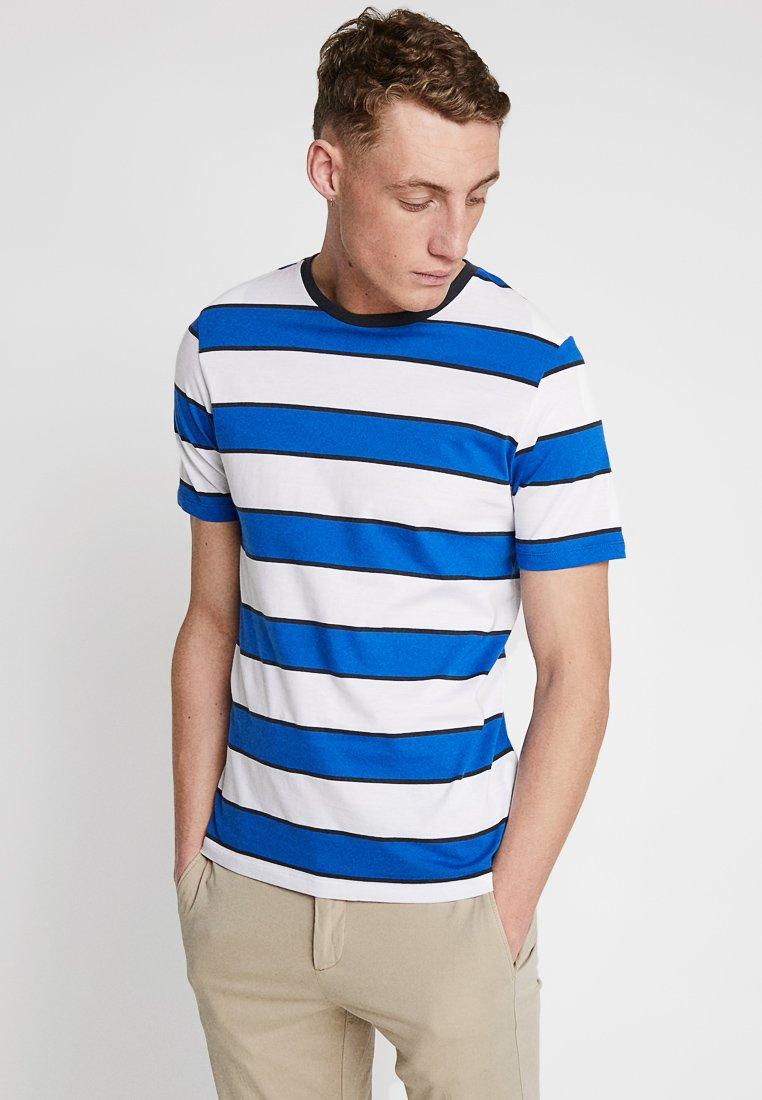 Produkt - SAIL STRIPE TEE - Print T-shirt - nautical blue