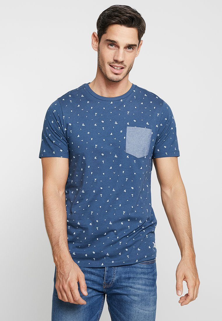 Produkt - SHORE TEE - Print T-shirt - dark denim