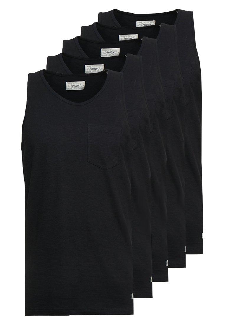 Produkt - PKTGMS SLUB TANK 5 PACK - Top - black