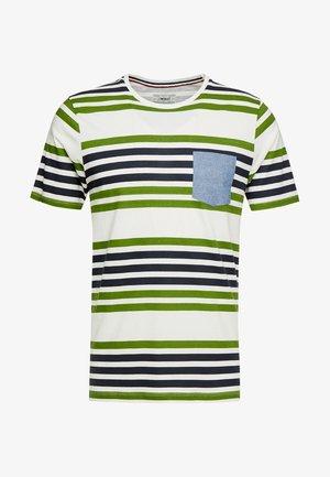 PKTGMS TWIN STRIPE TEE - T-shirt imprimé - garden green