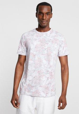 PKTGMS HIBISCUS TEE - T-shirt imprimé - american beauty