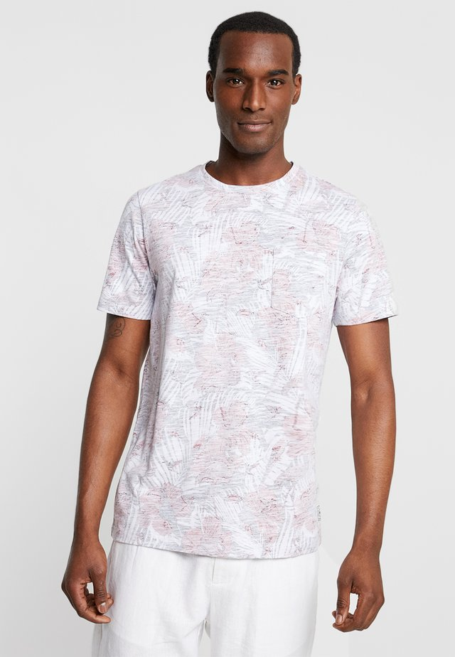 PKTGMS HIBISCUS TEE - T-shirts med print - american beauty