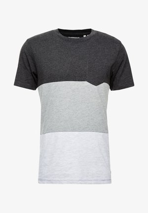 PKTAUK ENDLESS TEE - Printtipaita - light grey melange