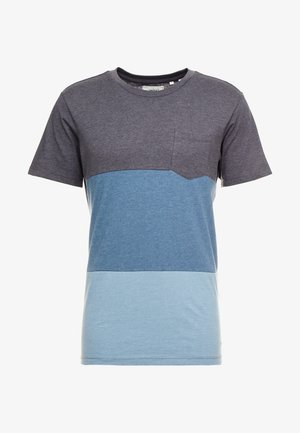 PKTAUK ENDLESS TEE - T-shirt print - blue wing teal melange