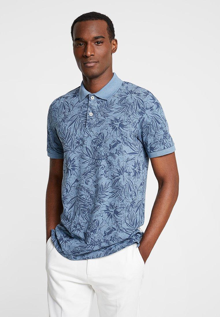 Produkt - PKTGMS PARADISE - Polo shirt - bluestone