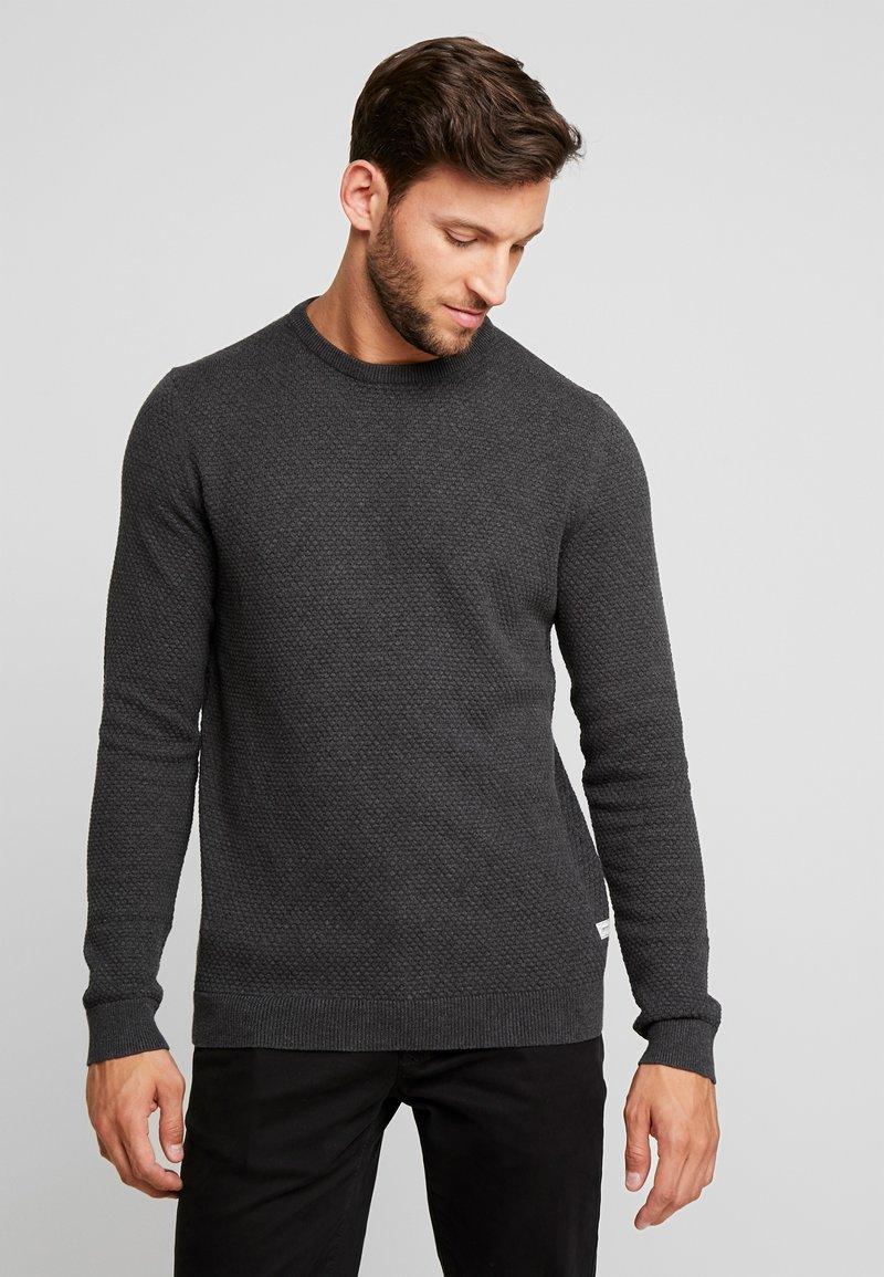 Produkt - PKTHNN  - Strickpullover - dark grey melange