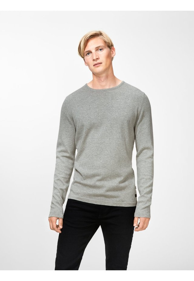 PKTHNN  - Strickpullover - light grey melange