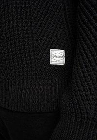 Produkt - PKTHNN JOHN CREW NECK - Trui - black - 5