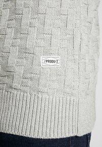 Produkt - CHARLIE - Sweter - light grey melange - 3