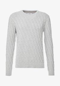 Produkt - CHARLIE - Sweter - light grey melange - 4