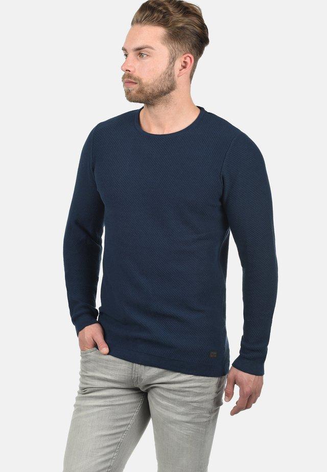 REGULAR FIT - Jumper - dress blue
