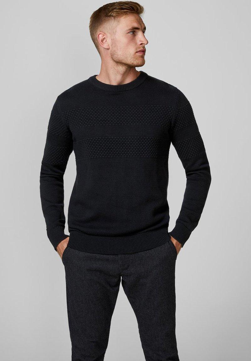 Produkt - Strickpullover - black