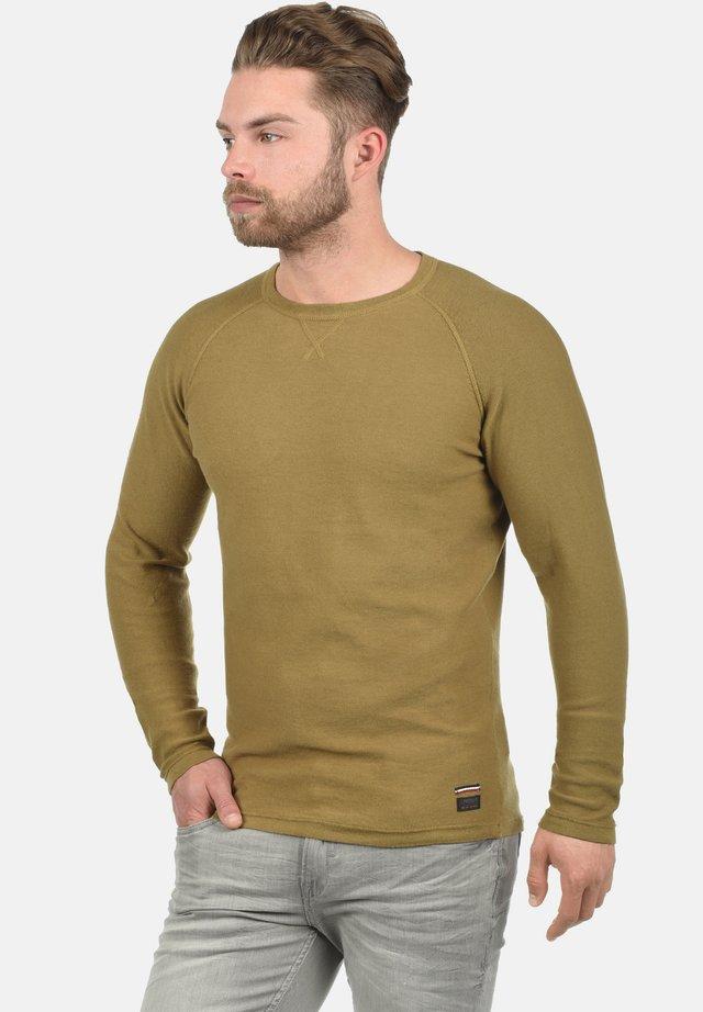 Sweatshirt - dull gold