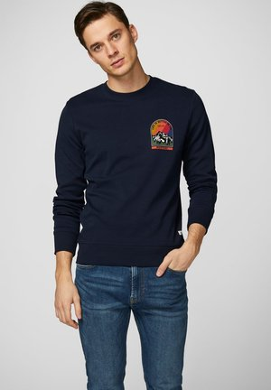 HIKE - Sweatshirt - navy