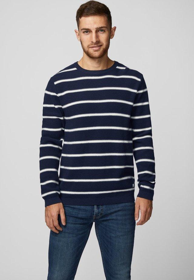 Sweter - navy blazer